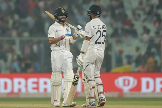 India vs Bangladesh 2nd Test Cricket Score