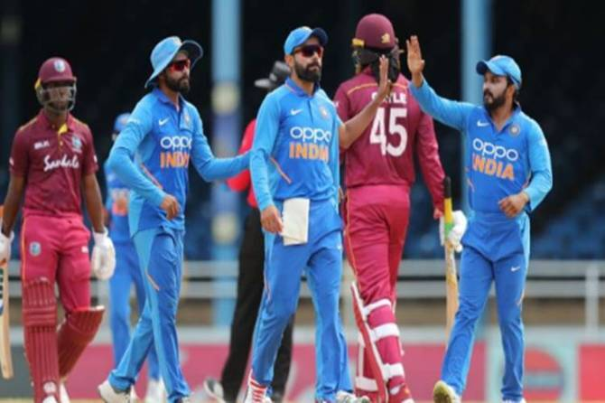 ind vs wi odi t20 indian team announced bcci