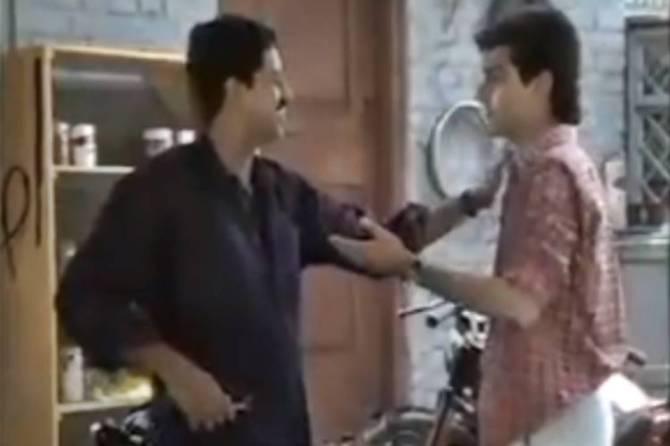 Ajith kumar acted in dd tv serial video - அஜித் நடித்த டிவி சீரியல்; அன்னைக்கே தல அவ்வளவு மாஸ் (வீடியோ)