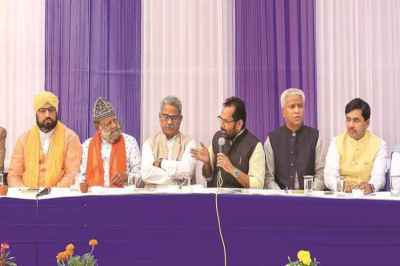 ayodhya verdict, rss, bjp leaders meet muslims, union minister mukhtar abbas naqvi, supreme court verdict on ayodhya dispute, ayodhya ram mandir, babri masjid, indian express