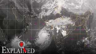 maharashtra cyclone, arabian sea, maharashtra rains, arabian sea cyclones, cyclone kyarr, cyclone maha, indian express