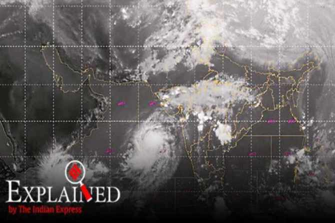 maharashtra cyclone, arabian sea, maharashtra rains, arabian sea cyclones, cyclone kyarr, cyclone maha, indian express