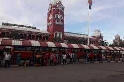dirtiest railway station in India : Chennai Central Dirtiest railway station