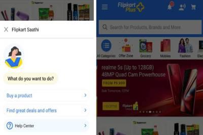 Flipkart Launches Assistant Saathi, Flipkart's Smart Assistant Saathi, Flipkart introduces shopping assistant Saathi, Flipkart Launches Smart Assistant Saathi