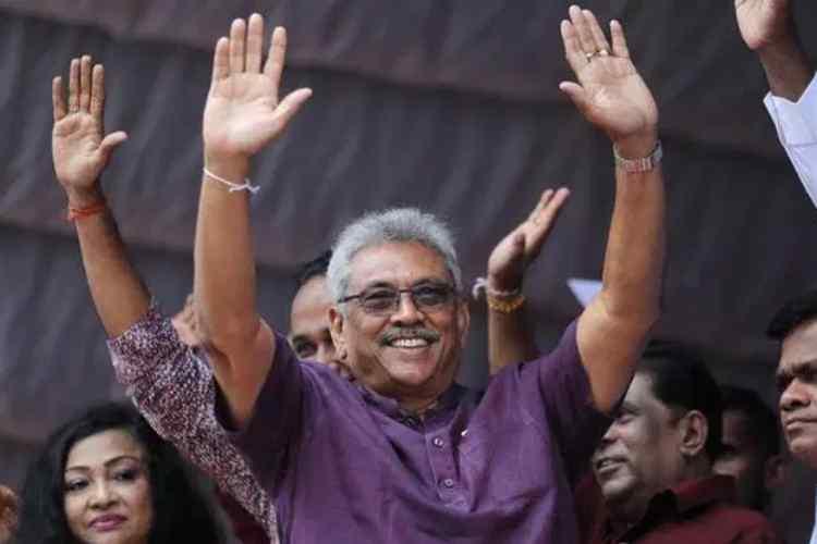 Sri Lanka's New President Gotabaya Rajapaksa