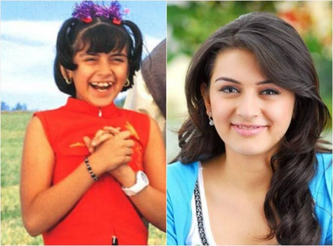 Hansika Motwani as child artist