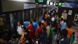 chennai, chennai metro, Chennai,water crisis,switched off,monsoon,Metro Rail station,airconditioner, passengers, suffer,
