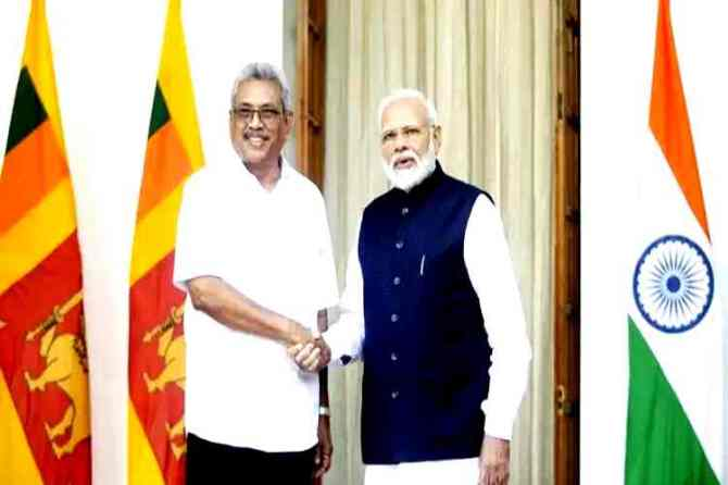 gotabaya rajapaksa, gotabaya rajapaksa in india, sri lanka president visits india, gotabaya rajapaksa modi talk,கோத்தபய ராஜபக்ச, கோத்தபய ராஜபக்ச - பிரதமர் மோடி சந்திப்பு, gotabaya rajapaksa modi joint statement, india sri lanka bilateral ties, Tamil indian express news