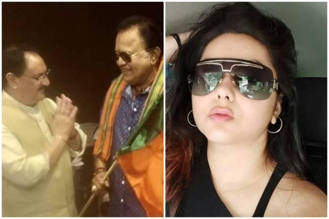 Namitha Bharatiya Janata Party, Namitha Bharatiya Janata Party Radha Ravi, Namitha Radha Ravi, நமீதா, நடிகை நமீதா, பாஜக, ராதாரவி