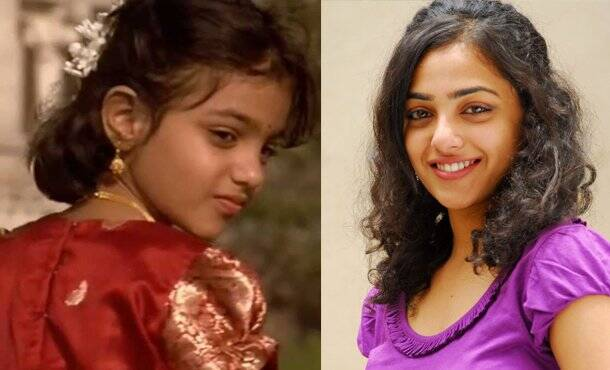 Nithya Menon as Child Artist