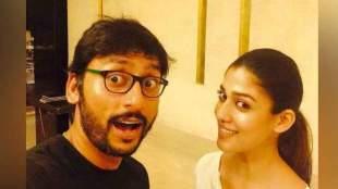 RJ balaji with nayanthara