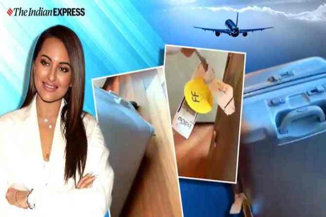 sonakshi sinha suitcase damaged, சோனாக்ஷி சின்ஹா, sonakshi sinha suitcase damaged in air travel, the carriage by air act, 1972, sonakshi sinha baggage, indianexpress.com, indianexpress, சோனாக்ஷி சின்ஹா சூட்கேஸ் சேதம், விமானப் பயணத்தில் சேதமடைந்த சோனாக்ஷி சின்ஹா, சூட்கேஸ், இண்டிகோ விமான நிறுவனம், broken luggage, how to report broken luggage airport, air travel, dgca, dgca rules, indigo, air india, shubhendra rao guitar broken, the carriage by air act, 1972, sonakshi sinha baggage, tamil.indianexpress.com, tamil indianexpress, broken luggage, how to report broken luggage airport, air travel, dgca, dgca rules, indigo, air india, shubhendra rao guitar broken