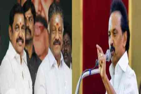 Center government withdraws CRPF security cover, MK Stalin, OPS