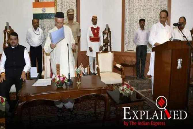 ajit pawar ncp, ajit pawar, who is ajit pawar, maharashtra deputy cm, maharashtra government formation, indian express news