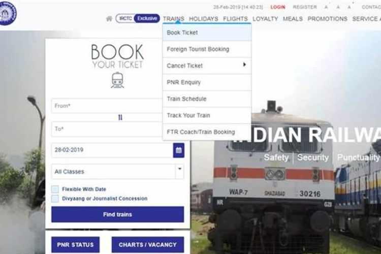 IRCTC,IRCTC ticket booking,train ticket,irctc.co.in,IRCTC ticket reservation,IRCTC PNR status,Indian Railways,IRCTC official website,Railways News, irctc,