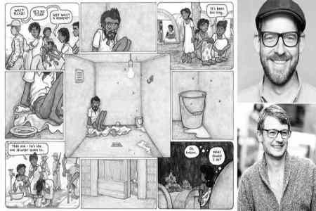 vanni: a family's struggle through the sri lankan conflict graphic novel, vanni: a family's struggle through the sri lankan conflict benjamin dix, வன்னி, இலங்கைப் போர், வன்னி கிராஃபிக் நாவல், பெஞ்சமின் டிக்ஸ், லிண்ட்சே பொல்லாக், sri lankan civil war, sri lankan civil war ltte, lindsay pollock benjamin dix, un workers lindsay pollock benjamin dix, sri lankan civil war graphic novel, sri lankan civil war, Tamil indian express