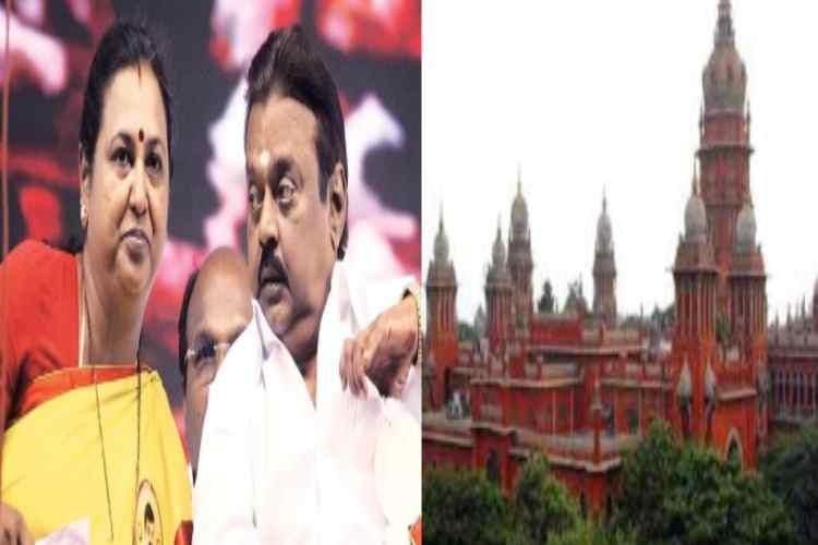 DMDK leaders vijayakanth withdraw cancelation petetion of defarmation case, தேமுதிக, விஜயகாந்த், பிரேமலதா, அவதூறு வழக்குகளை ரத்து செய்யக் கோரிய மனு வாபஸ், சென்னை உயர் நீதிமன்றம், DMDK president vijayakanth, premalatha vijayakanth,DMDK, Jayalalitha, Tamilnadu ministers