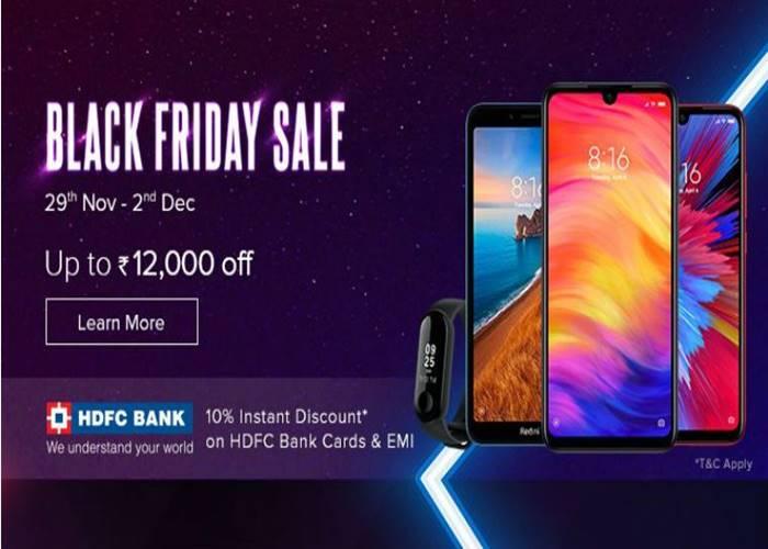 Xiaomi Black Friday sale starts today