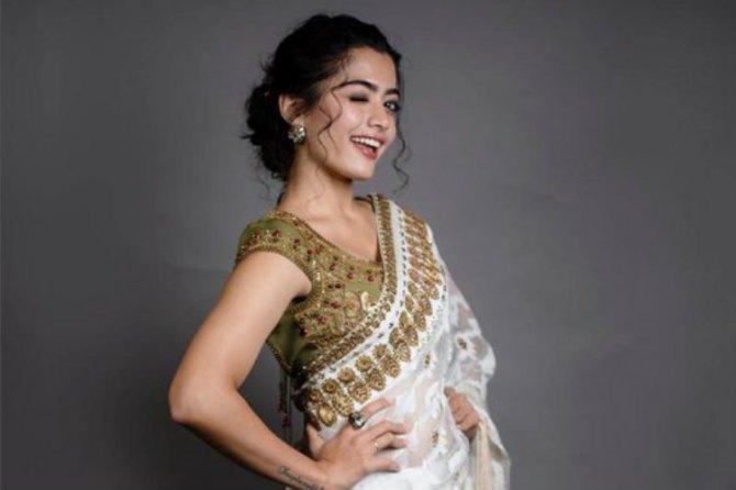 Rashmika Mandanna recreates hrithik roshan's dance