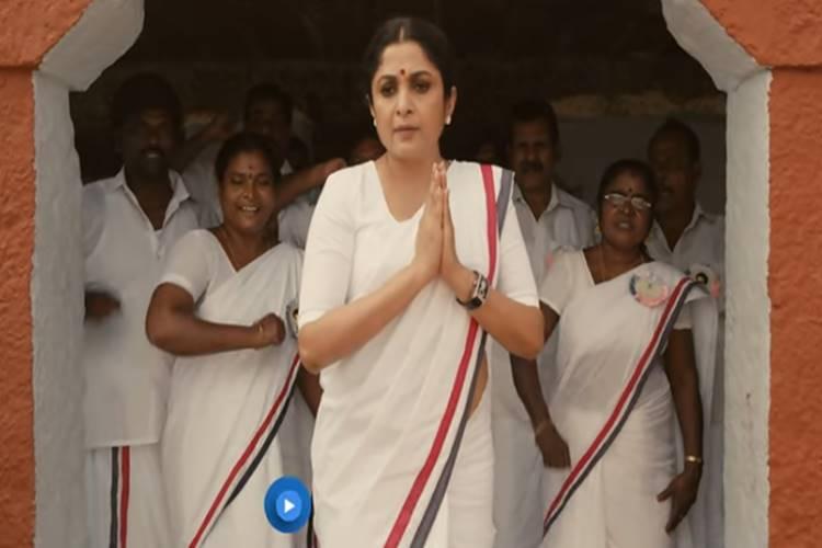 Queen trailer Ramya Krishnan as Jayalalithaa - 'குழந்தை பெத்துதான் அம்மாவாகணும்-னு இல்லை' - ஜெயலலிதாவின் கதை சொல்லும் 'குயின்' டிரைலர்