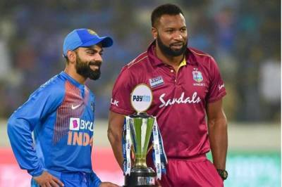 India vs West Indies Score, IND vs WI scorecard