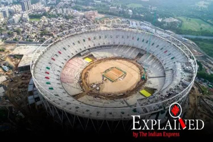 Motera set to become largest cricket stadium in world with 1,10,000 seats - முரட்டு மொடேரா - வியக்கவைக்கப் போகும் உலகின் மிகப்பெரிய கிரிக்கெட் ஸ்டேடியம்