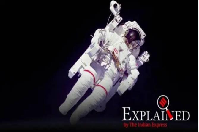 astronaut christina koch sets new record longest single space flight by a woman - ஒரு பெண்ணின் மிக நீண்ட ஒற்றை விண்வெளிப் பயணம் - சாதித்த அமெரிக்க வீராங்கனை