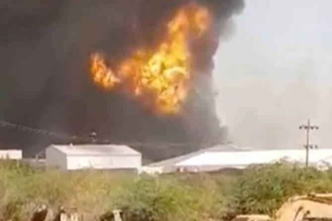 Sudan LPG tanker blast 18 Indians killed cm palaniswamy pm modi - சூடான் சிலிண்டர் விபத்தில் 18 தமிழர்கள் பலி? - பிரதமருக்கு முதல்வர் பழனிசாமி கடிதம்