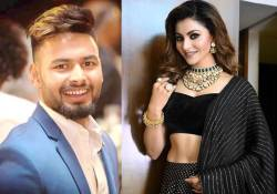 Rishabh Pant dating Bollywood actress Urvashi Rautela