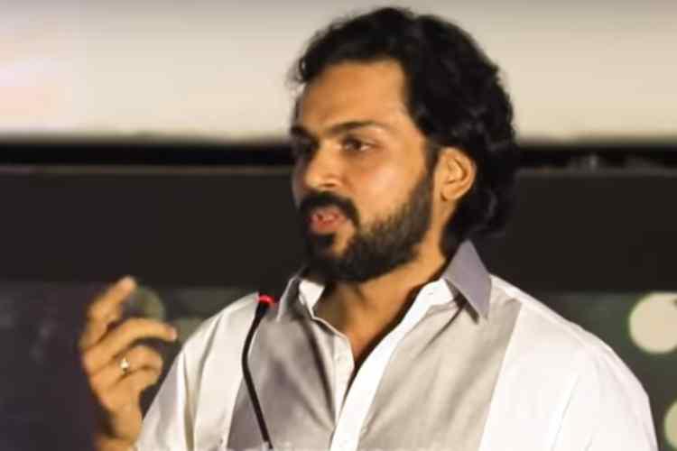 Actor Karthi, Pollachi rape case, delhi rape case