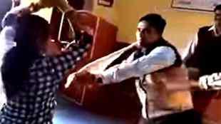 Rajasthan Govt School teacher suspended for Nagin dance, Govt School teacher suspended for Nagin dance, ஆசிரியை பாம்பு நடனம், ராஜஸ்தான், Govt School teacher Nagin dance, Nagin Dance, Rajasthan, Teacher dance in interval of orientation class