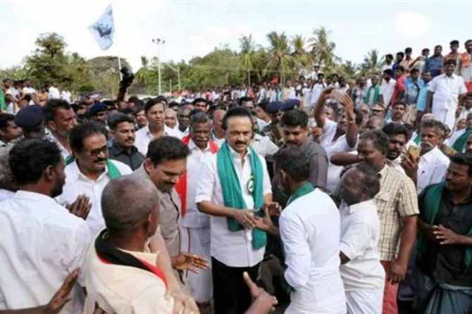 cauvery protest, dmk, stalin, chennai special court, cauvery management board, summon