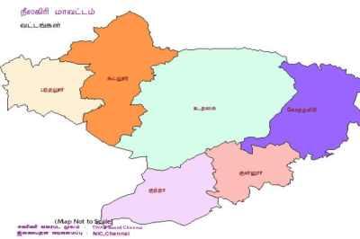 ஊரக உள்ளாட்சி தேர்தல் : நீலகிரி மாவட்ட வேட்பாளர்கள் பட்டியல்