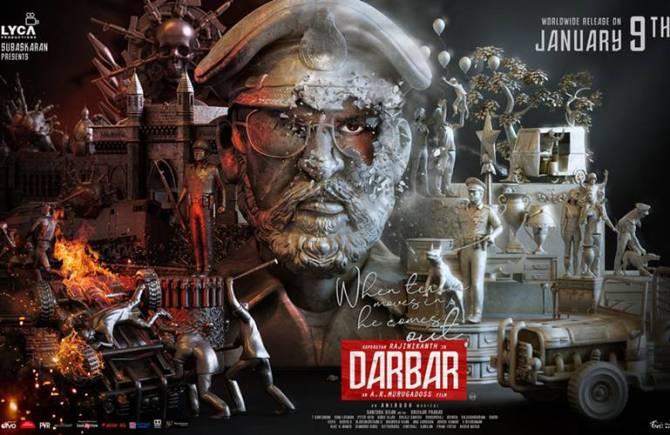 Darbar movie in suntv TRP rate last week