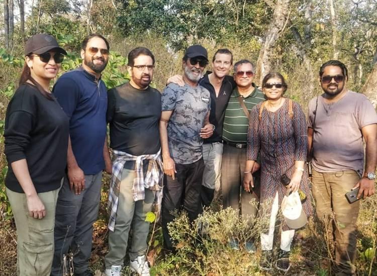 Rajinikanth in Man Vs Wild first schedule of shooting done