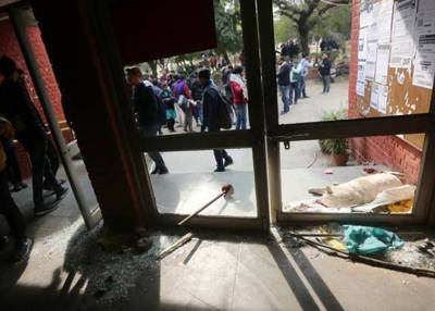 JNU violence TV sting raises questions