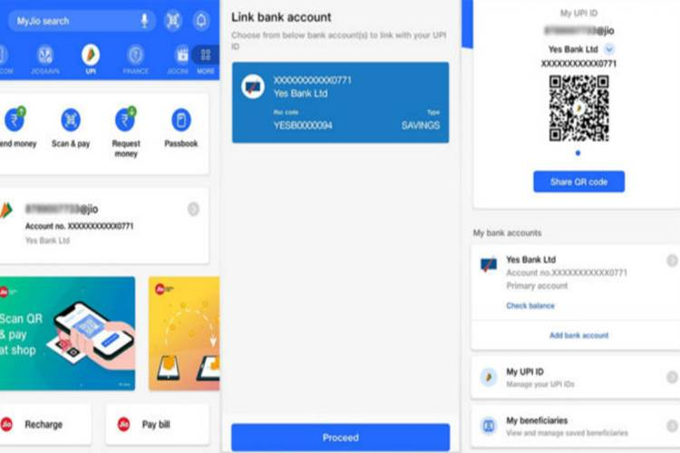 Reliance Jio Launches UPI Payment, Jio UPI Payment Feature, jio, myjio app