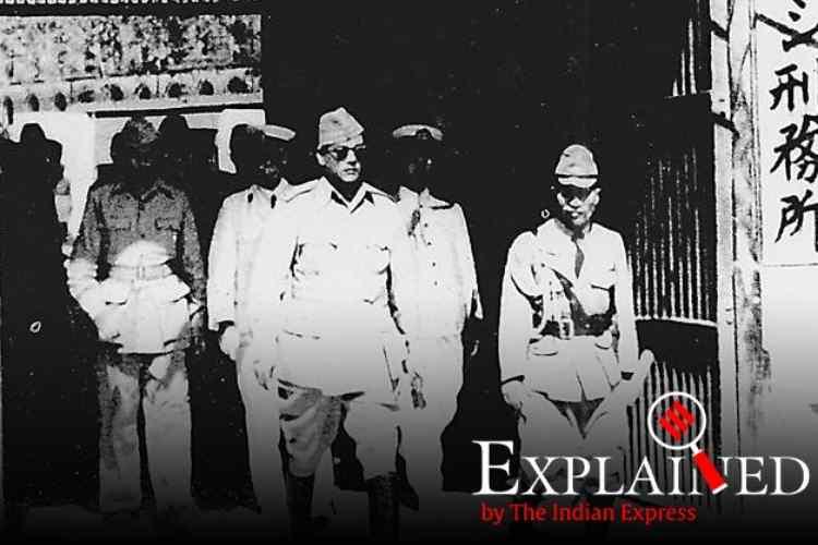 Netaji Subhas Chandra Bose, Andaman and Nicobar Islands, நேதாஜி, சுபாஷ் சந்திர போஸ், அந்தமான், போர்ட்பிளேய்ர், Subhas Chandra Bose Tricolour Port Blair, Subhas Chandra Bose Andaman December 1943, Tamil indian express, Tamil indian express explained