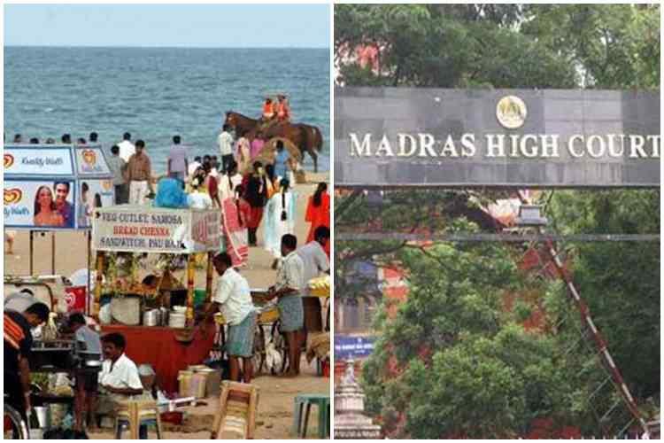 Madras High Court, high court set minimum rent for shops set up in Marina, சென்னை, சென்னை மாநகராட்சி, மெரினா கடற்கரை, சென்னை உயர் நீதிமன்றம், chennai city corporation set shops in marina, marina beach, chennai, chennai city corporation