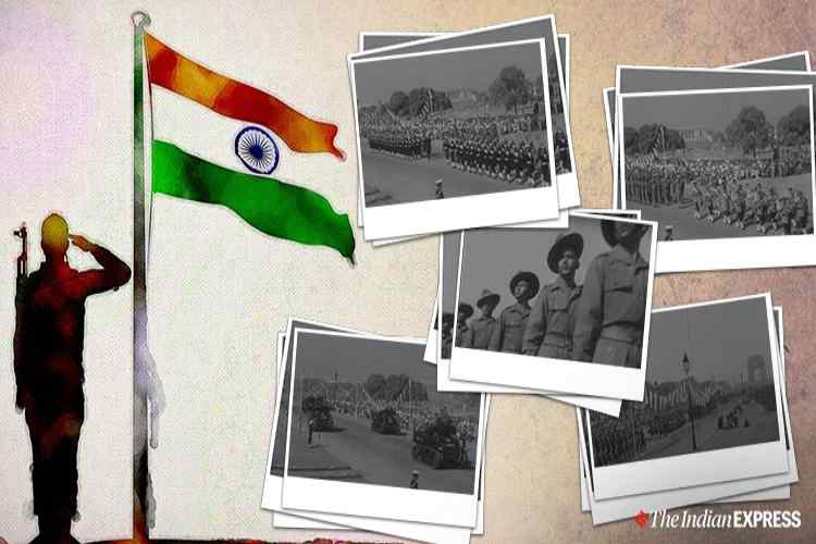 Republic day, Republic day 2020, 1950 first india's republic day, India's first republic day, Republic Day celebrations in 1950, குடியரசு தின விழா, இந்தியாவின் முதல் குடியரசு தின விழா கொண்டாட்டம், Republic Day 1950, குடியரசு தினம் 1950, Pandit Jawaharlal Nehru, Sarvepalli Radhakrishnan, Indian Republic day in London republic day, Trending, Tamil Indian Express news