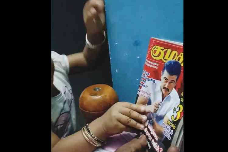 Draupadi director mohan g, thala ajith viral video, திரௌபதி இயக்குனர் மோகன் ஜி, தல அஜித், வைரல் வீடியோ, thala ajith video viral, director mohan g child, Draupadi movie