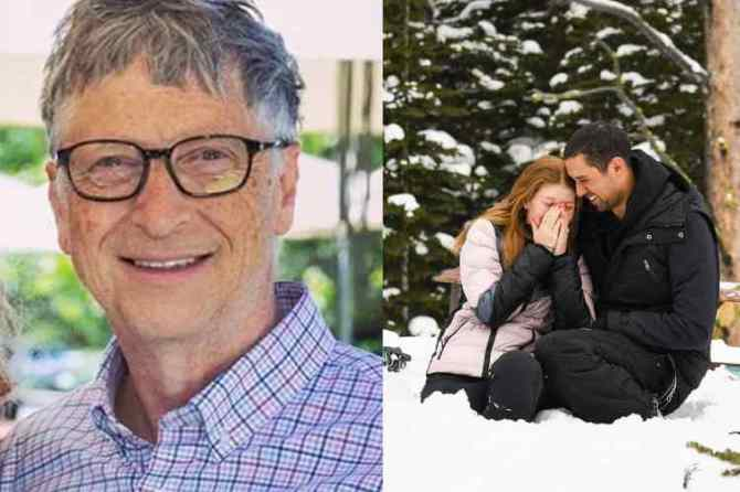 Bill Gates, Bill Gates daughter Jennifer, Bill Gates daughter Jennifer announced engagement,பில்கேட்ஸ் மகள் அறிவித்த நிச்சயதார்த்தம், பில்கேட்ஸ் மகள் ஜெனிஃபர், நேயல் நஸ்ஸர், தந்தை Bill Gates daughter Jennifer engagement, bill gates daughter engagement with Nayel Nassar, Jennifer with nayel nassar