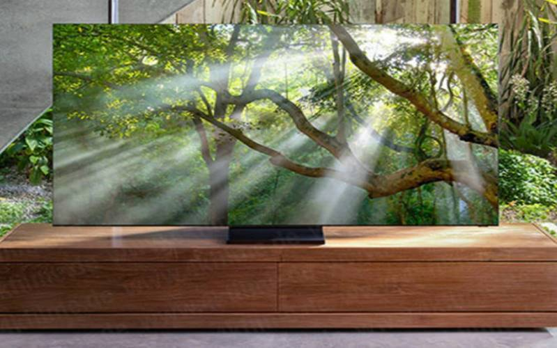 Samsung frameless TV Samsung zero bezel tv Q900T