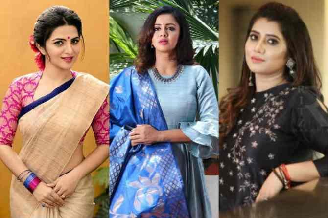 Top 10 TV Anchors tamil, vijay tv dd, priyanka deshpande, vj anjana