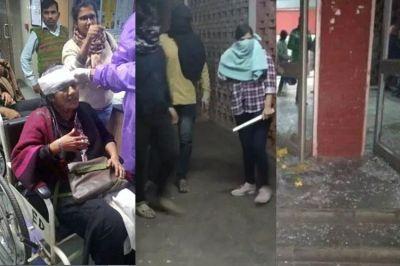 JNU violence: Police identify masked woman in video