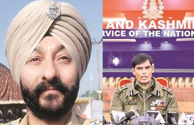 Anti-Hijack Unit DySP Davinder Singh held with militants