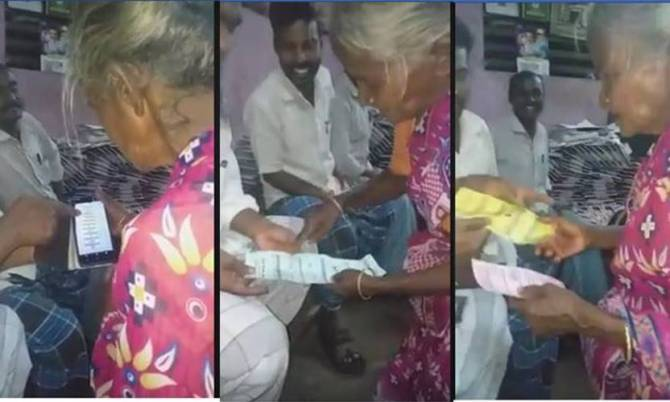Viral video local body elections, older woman, viral video