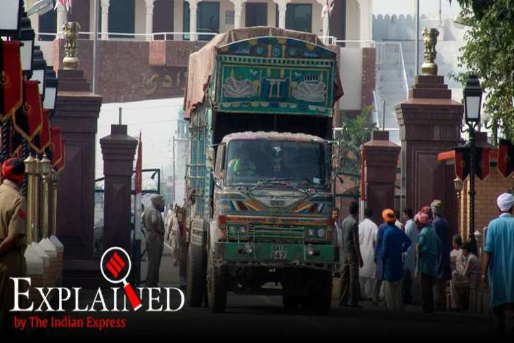Indian pakistan trade, Indian pakistan trade volumes in 2019, Indian pakistan relation