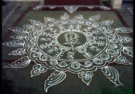 pongal, pongal 2020, pongal kolam 2020, pongal latest rangoli design, rangoli kolam, rangoli kolam, kolam with dots, mattu pongal kolam, rangoli kolam design, rangoli kolam photos