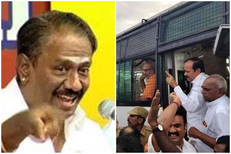 Tamil Nadu news, H.raja sit in dharna marina beech ,modi ,நெல்லை கண்ணன்,எச்.ராஜா
